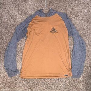 Men's Large Columbia Long Sleeve T-Shirt Hoodie
